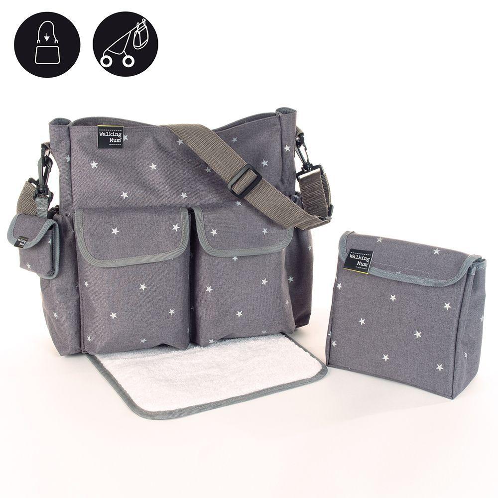 Nursery Décor Pañalera Para Bebe Bolso Porta Viajes Amplio Resistente Regalo Baby Shower Boxes & Storage