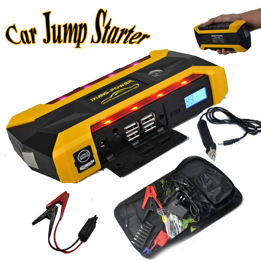 12v mini portable car charger power bank emergency