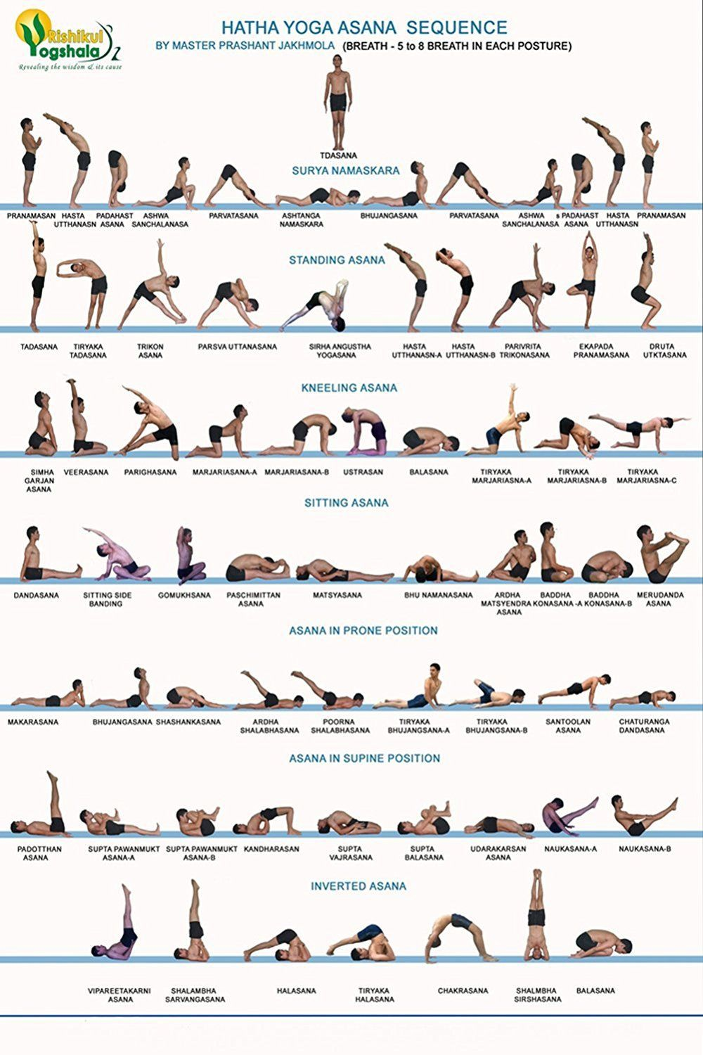 Yoga Asanas With Pictures