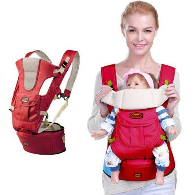 45152aa09db New 6 in 1 For 0-36m infant toddler ergonomic baby carrier sling backpack  bag gear with hip seat wrap newborn Waist Stool Belt