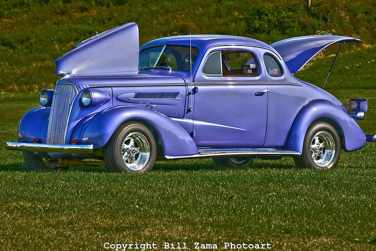 Immaculate Vintage Pontiac Coupe At Custom Car Show At Mineral Beach - Pittsburgh custom car show