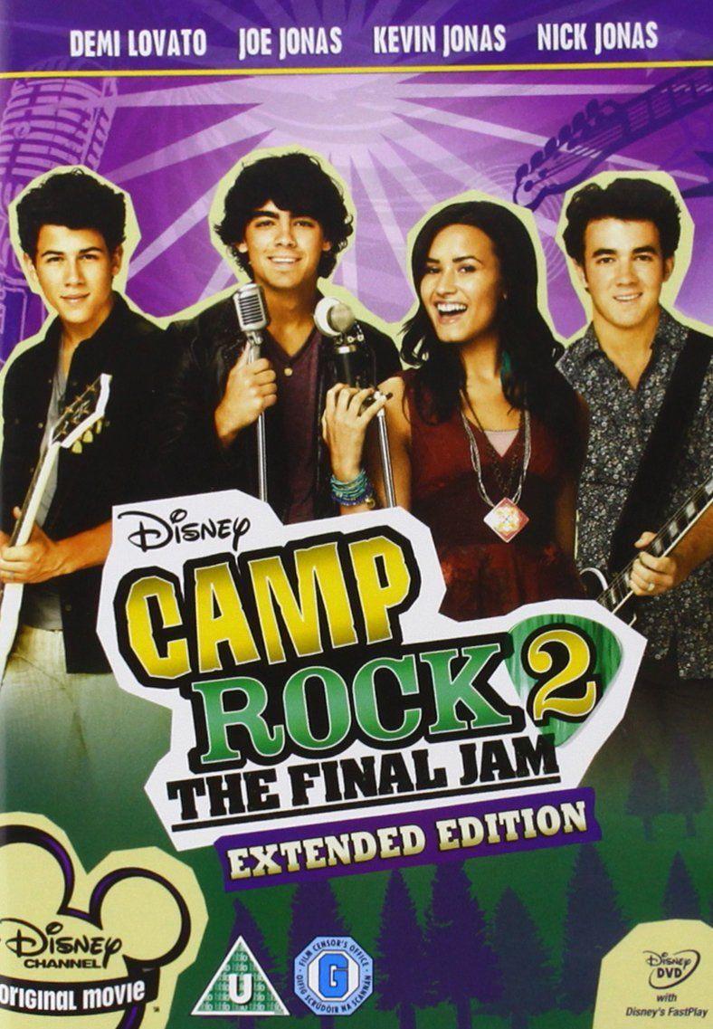 Camp Rock 2 Reino Unido Dvd Rock Camp Reino Dvd Camp Rock Peliculas Completas Peliculas De Disney