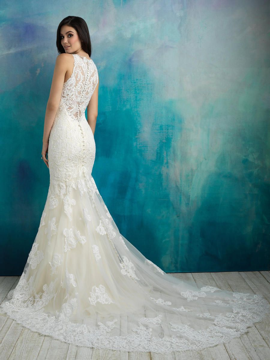 Allure Wedding 9504 - Shop this style and more at oeevening.com ...