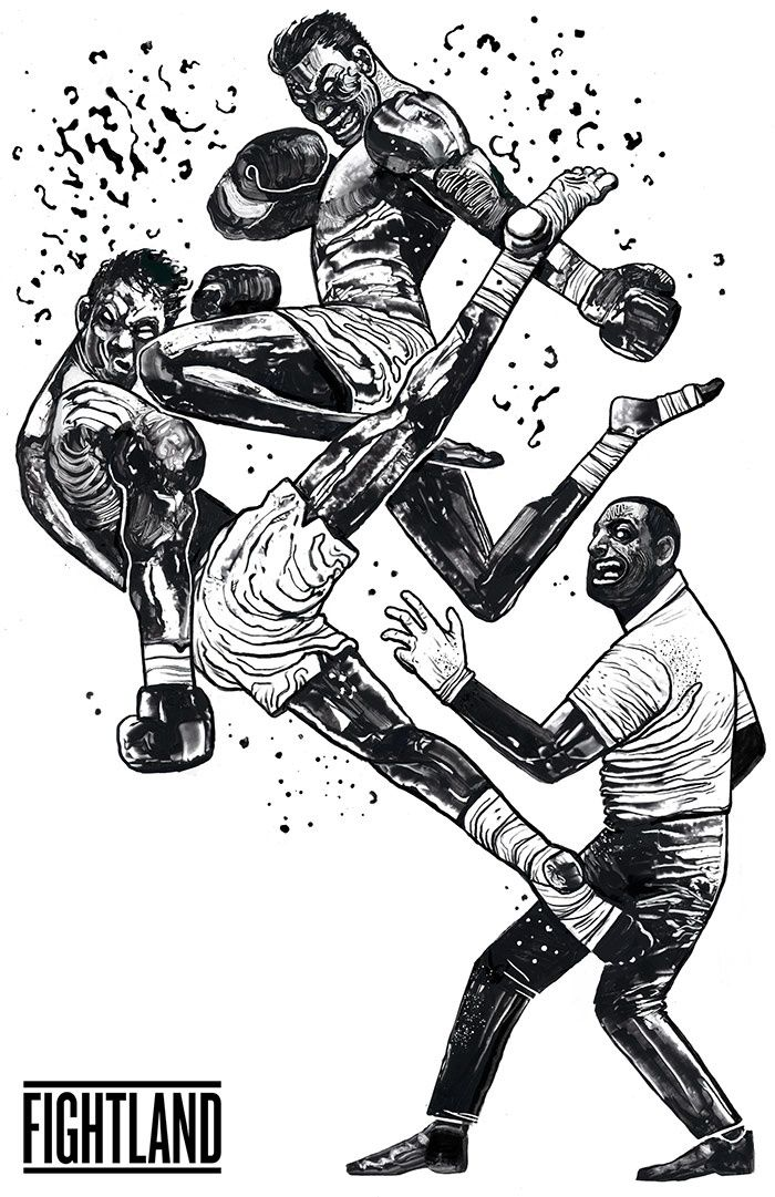 Eight Limbs The Masters Of Each Strike In Mma Illustration Mma