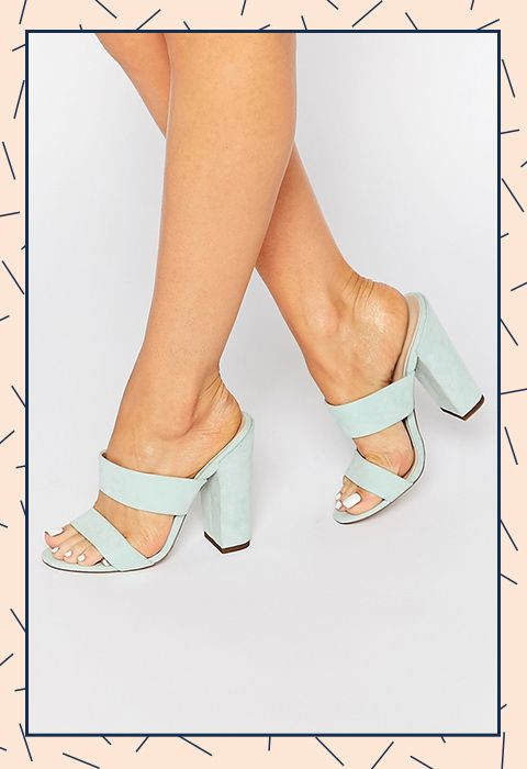 4f4c7f1a16c These pastel mules could be your perfect partner for wedding season