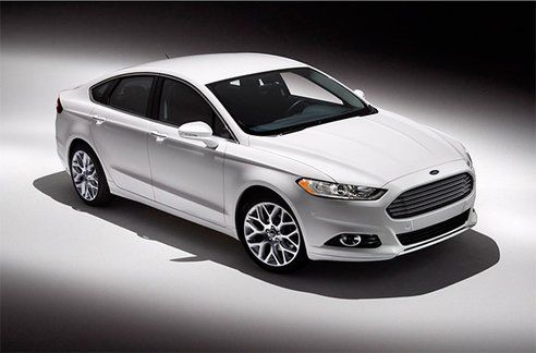Ford Unveils New 2013 Fusion Hybrid Lithium Ion 47 Mpg And Plug