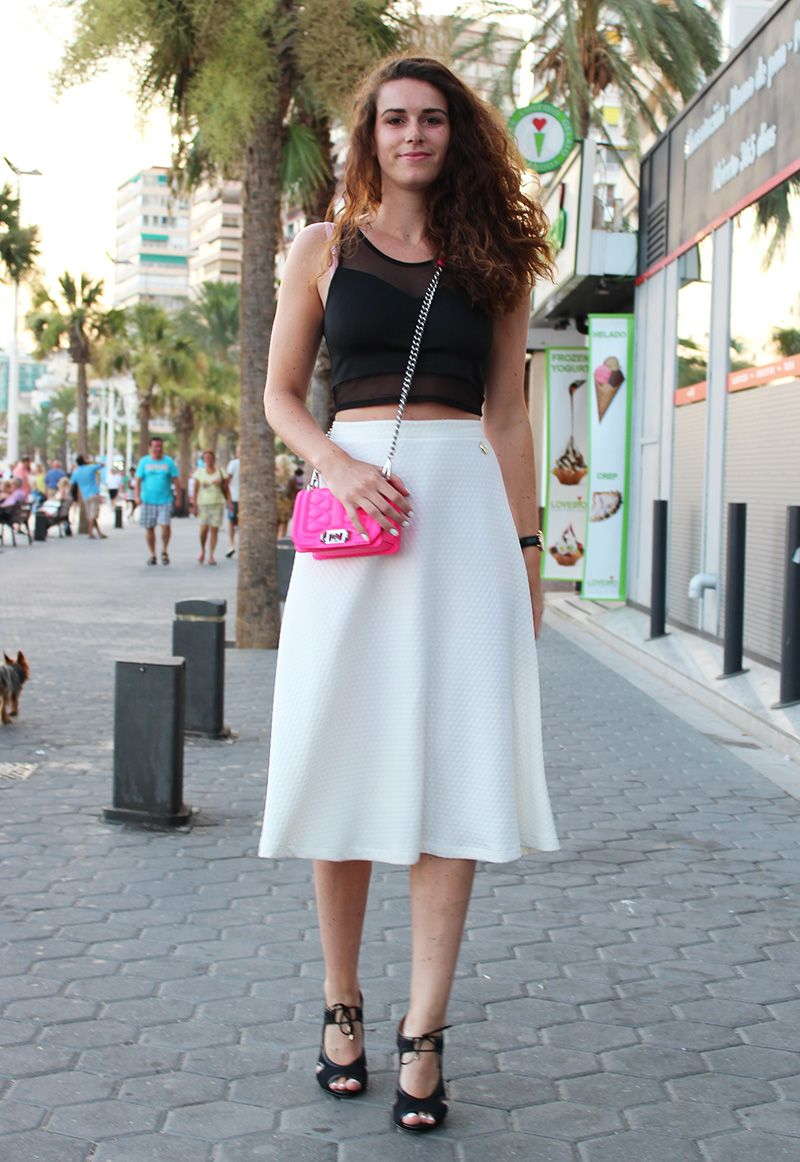 Curls and Bags: Outfit: Maare skirt