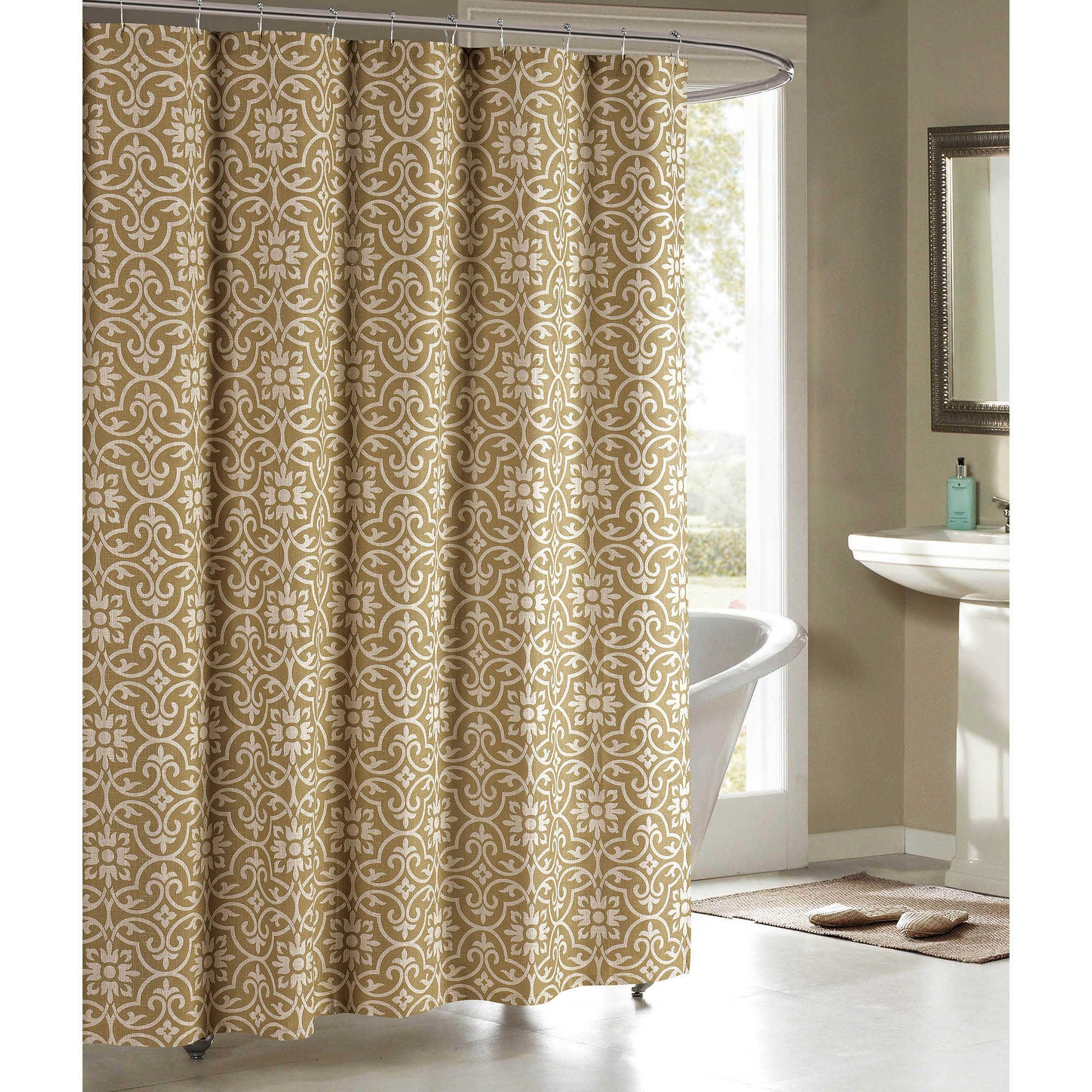 Allure Cotton Blend 72 Inch Shower Curtain With Images Fabric