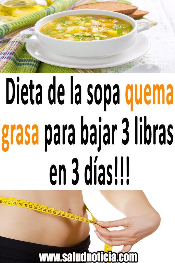 Dieta De La Sopa Quema Grasa Para Bajar 3 Libras En 3 Días Quema Grasa Baj Food Vegetables Health