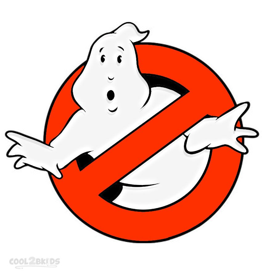 Ghostbusters Coloring Pages With Images Ghostbusters Logo
