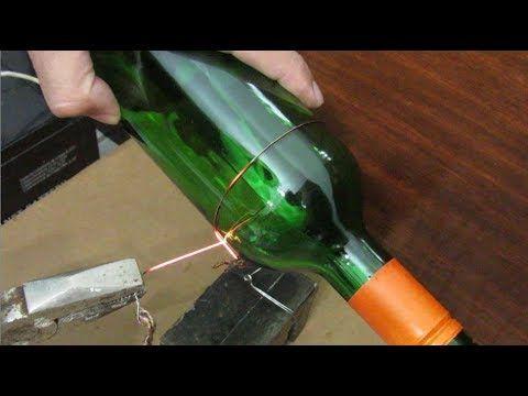 Cortador de garrafa de vidro com bateria de 12v glass for Cortar cristal para gatera