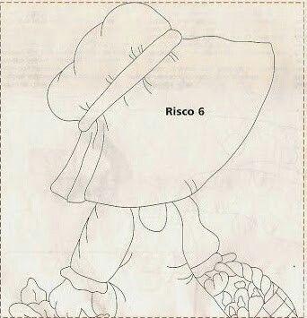 Menina de chapéu com com cesta de legumes 1