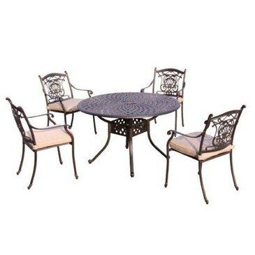Click Image Twice For Updated Pricing And Info Outdoorfurniture Patiofurniture Diningsets Patiodini Patio Furniture Sets Patio Dining Set 4 Dining Chairs