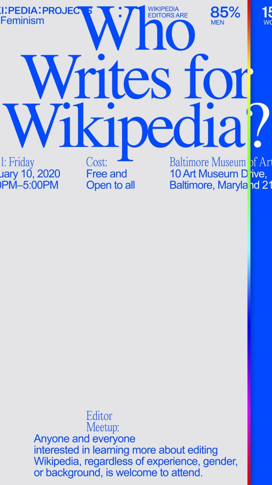 What would Wikipedia look like if it acknowledged