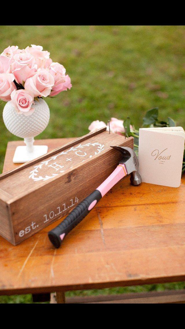 Wedding Wine Box, First Fight Box, Wedding Wine Ceremony