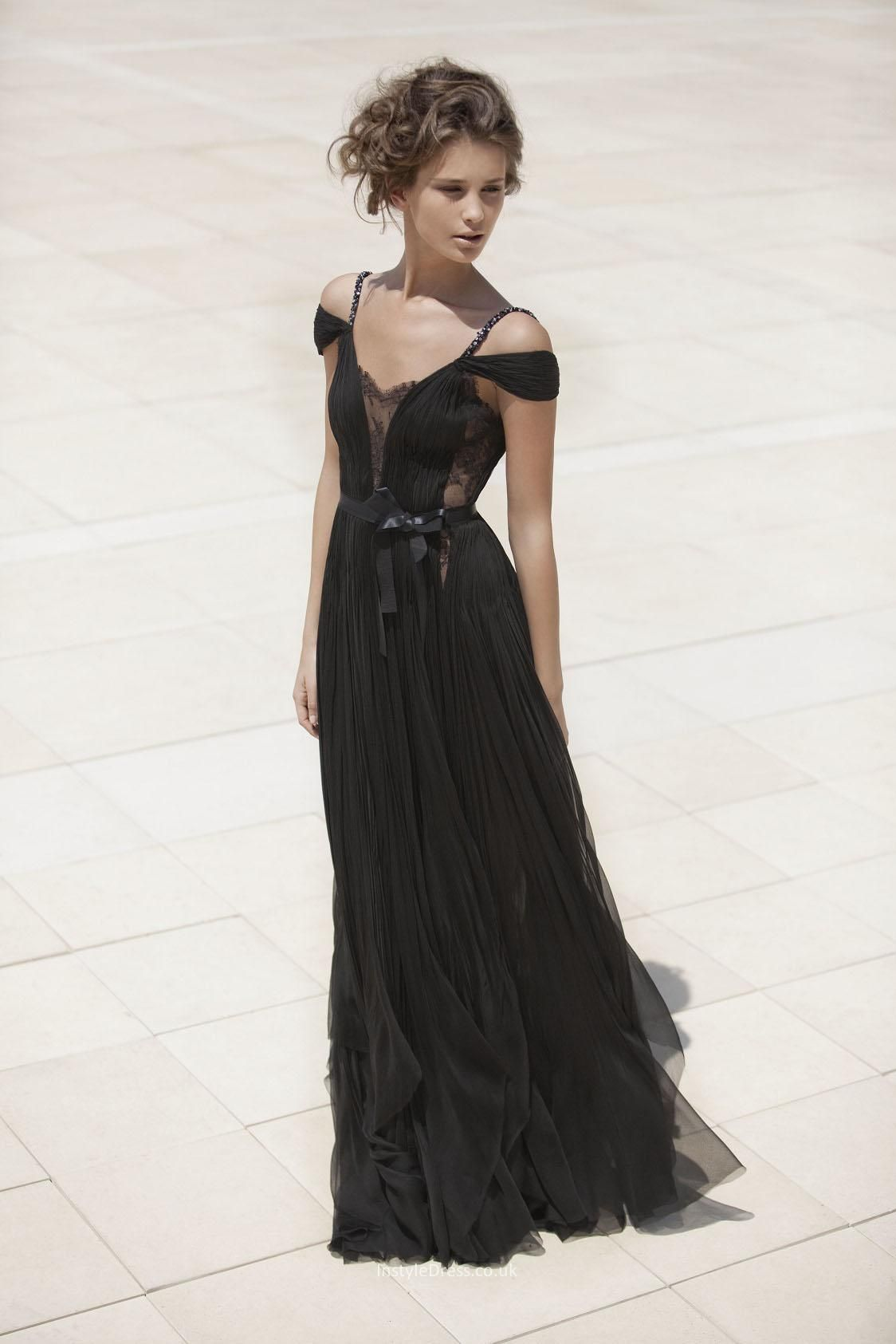 Black boho gown | STYLE | Pinterest | Boho gown, Boho and Gowns