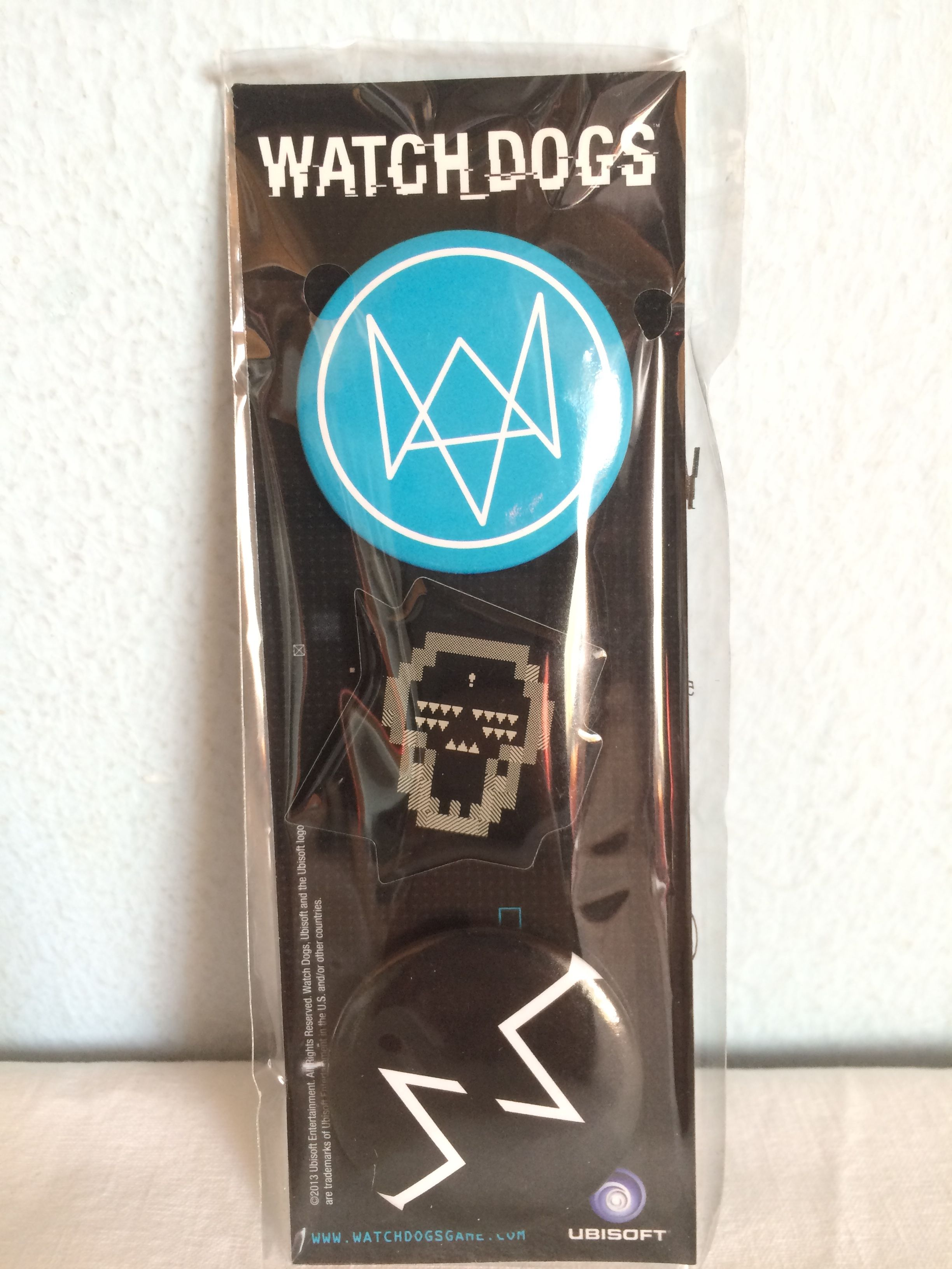 Watch Dogs DedSec Edition pins.