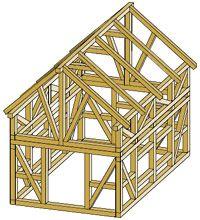 Bauplan Fachwerkhaus grundgerüst fachwerk spielhaus fachwerkhaus fachwerk
