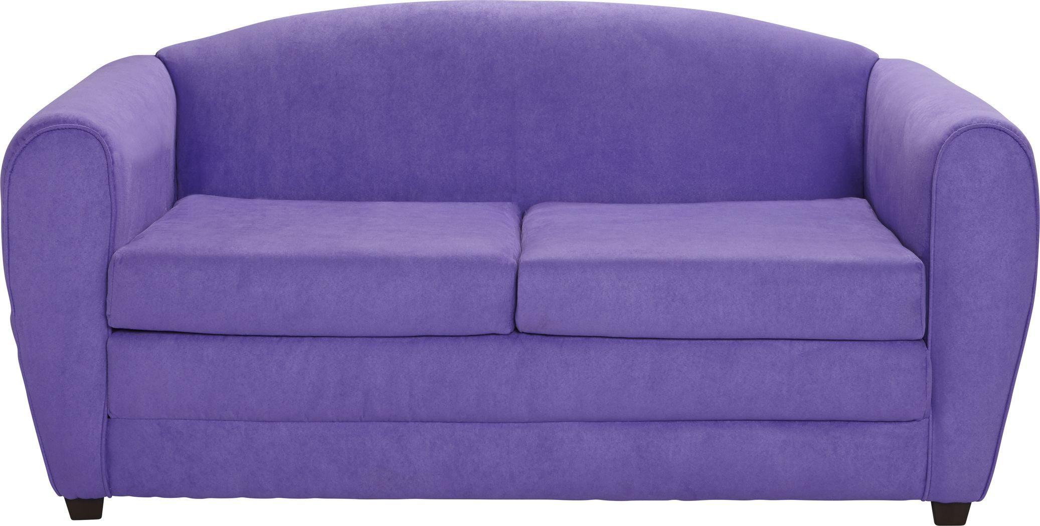 Kids Arezzo Purple Sleeper Sofa Sleeper Sofa Sofa Tween Room