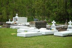 cemetery in the country
