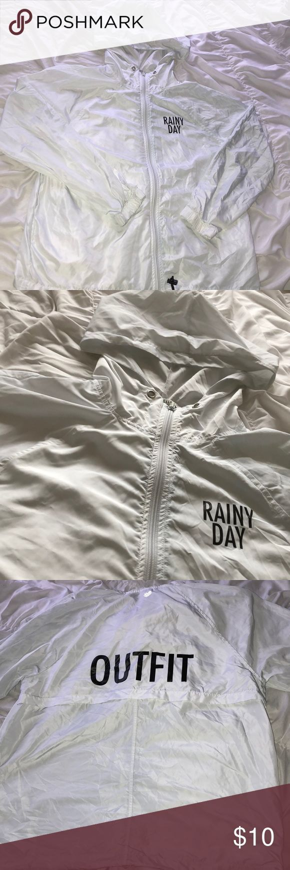 #breaker #Day #Jacket #Outfit #Rainy #Rainy Day Outfit for summer #rainydayoutfitforschool
