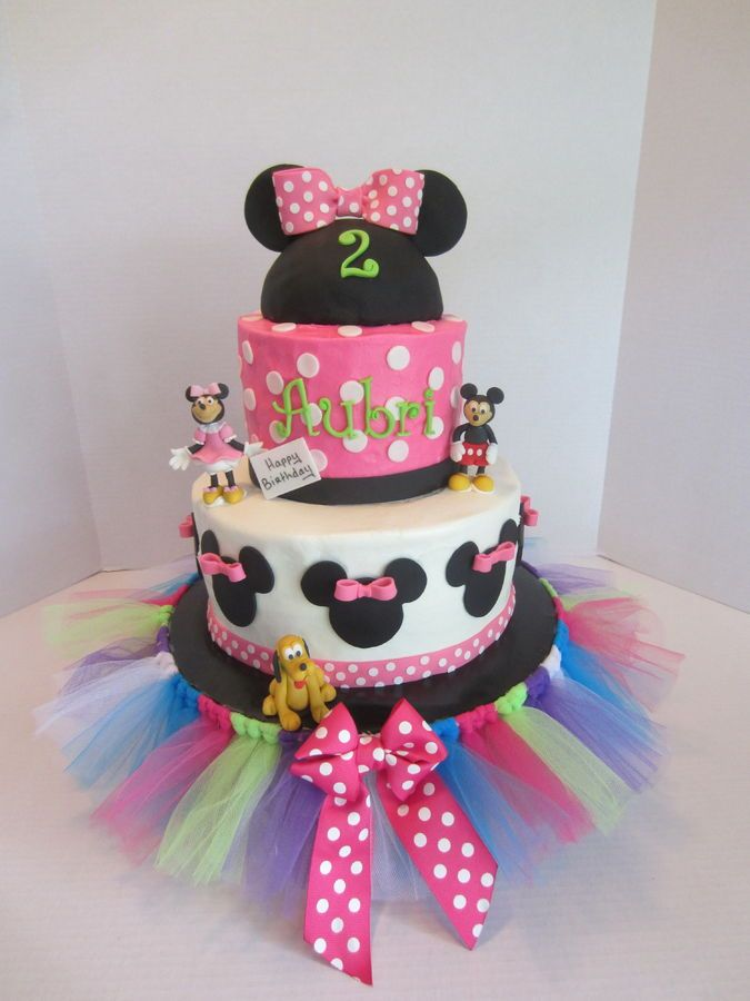 BC icing with fondant decorations The cake coordinated with the