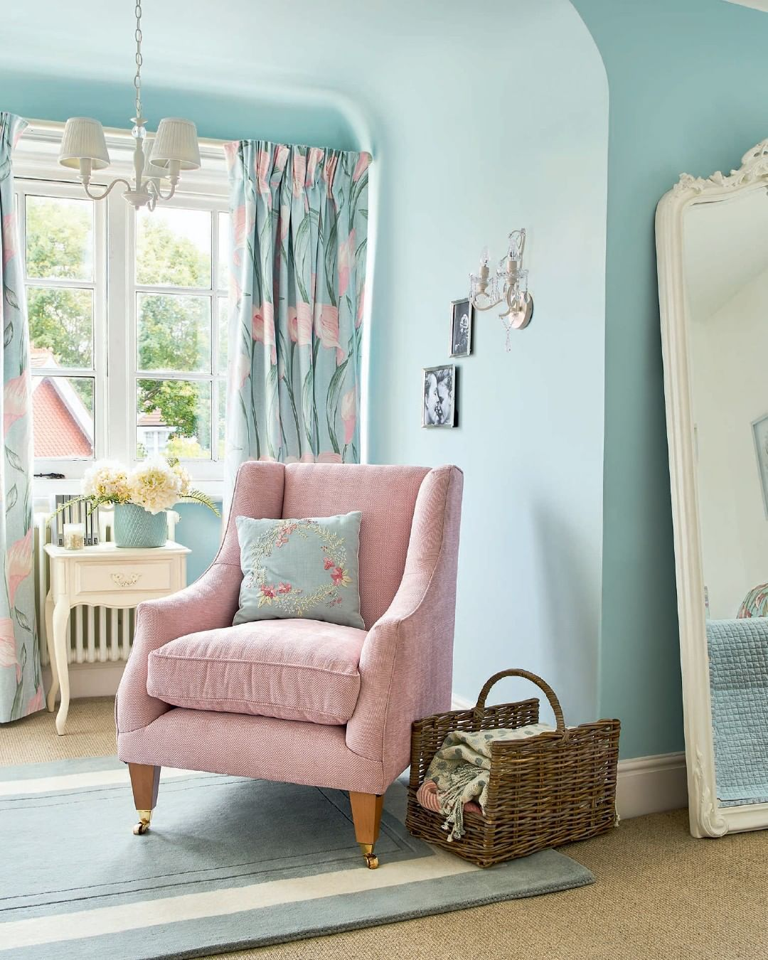 Duck Egg Blue Pastel Blush Pink The Perfect Colour Combination