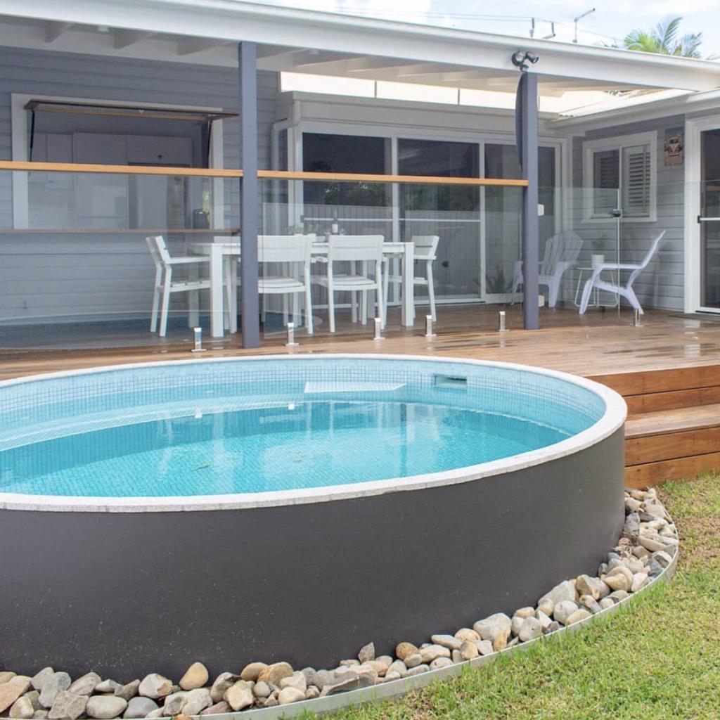 Plunge Pools Queensland Sunshine Coast And Brisbane Allcast Precast Small Backyard Pools Plunge Pool Small Pools