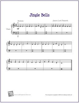 Jingle Bells Partituras Musica