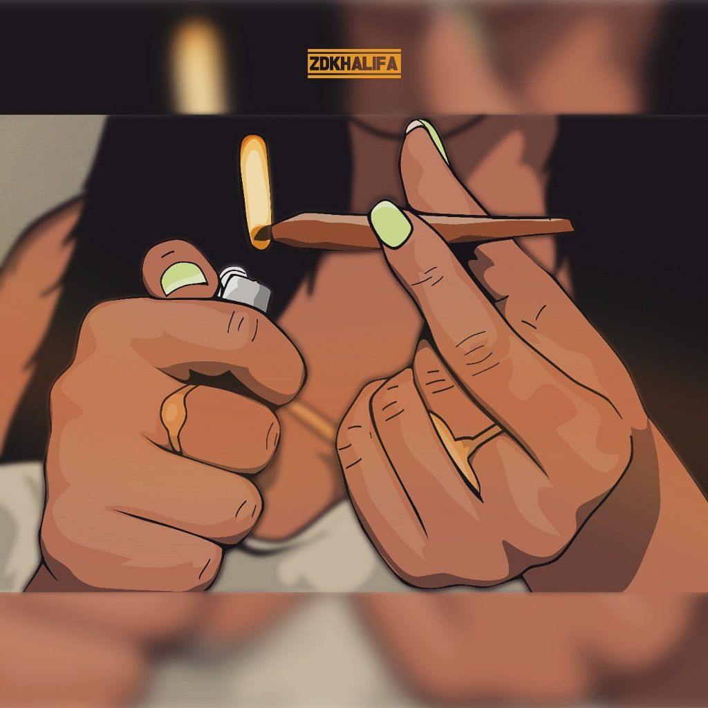 sexy toons smoking weed