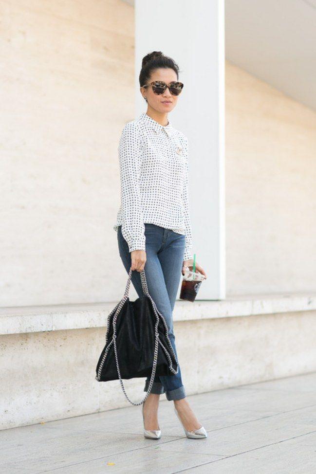 wei e bluse kombinieren diese styling regeln musst du kennen wei e bluse styling tipps und. Black Bedroom Furniture Sets. Home Design Ideas