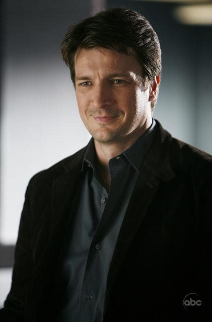 Nathan Fillion As Castle Eye Candy He Really Is Ruggedly Handsome