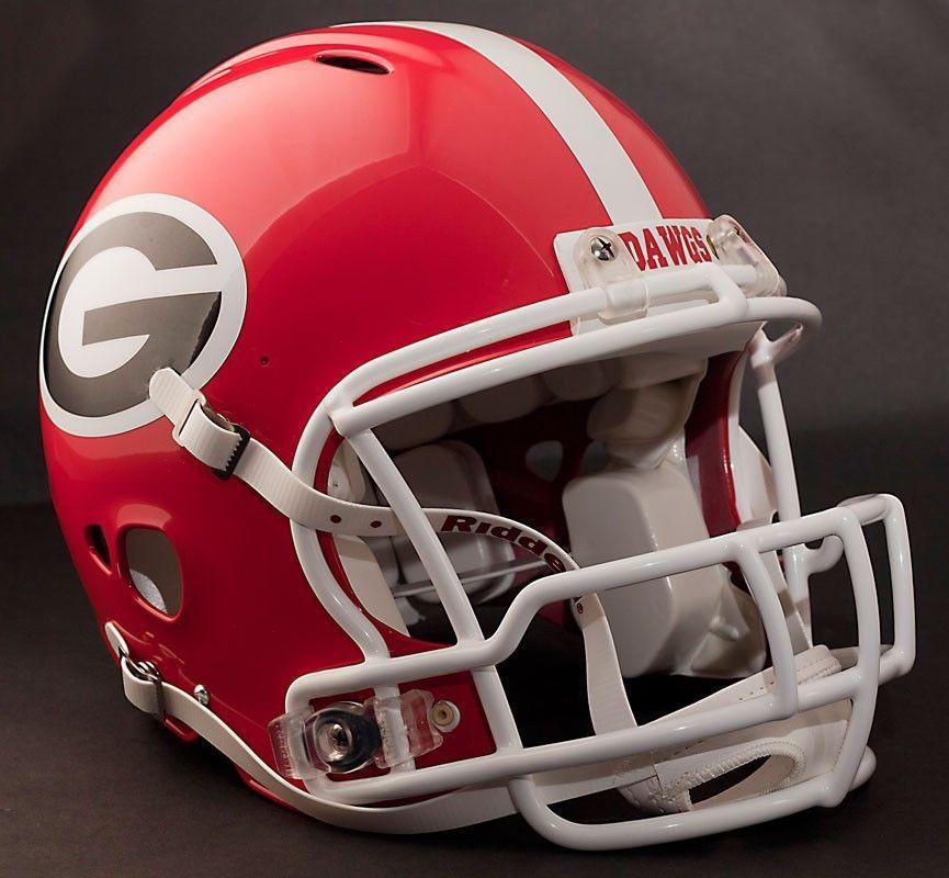 Georgia Bulldogs Football Helmet Front Team Nameplate Decal