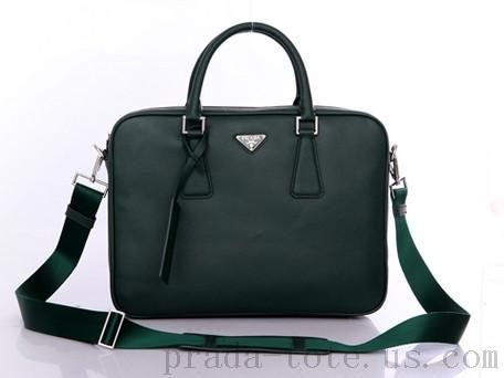 Fashion  Prada VA0791 Bags in Dark Green Outlet store  199340b50c537