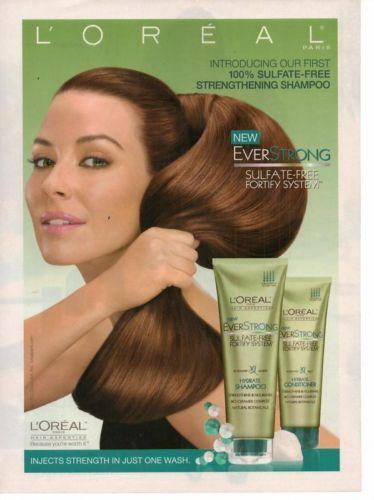 2010 Loreal Ever Strong Shampoo Magazine Print Advertisement Page H Ebay Shampoo Loreal How To Make Hair