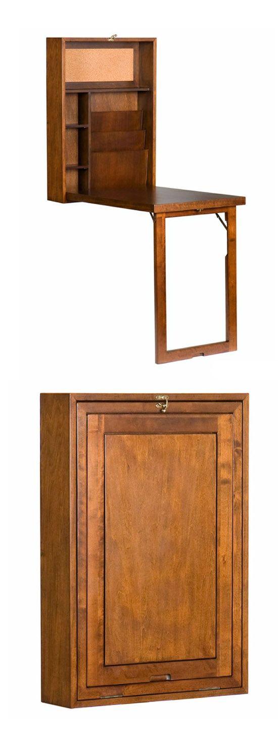Woodburn Convertible (hideaway) Desk, Walnut  ( http://www.luxeyard.com/living/woodburn-convertible-desk-walnut.html?medium=HardPin=Pinterest=6=type129 )