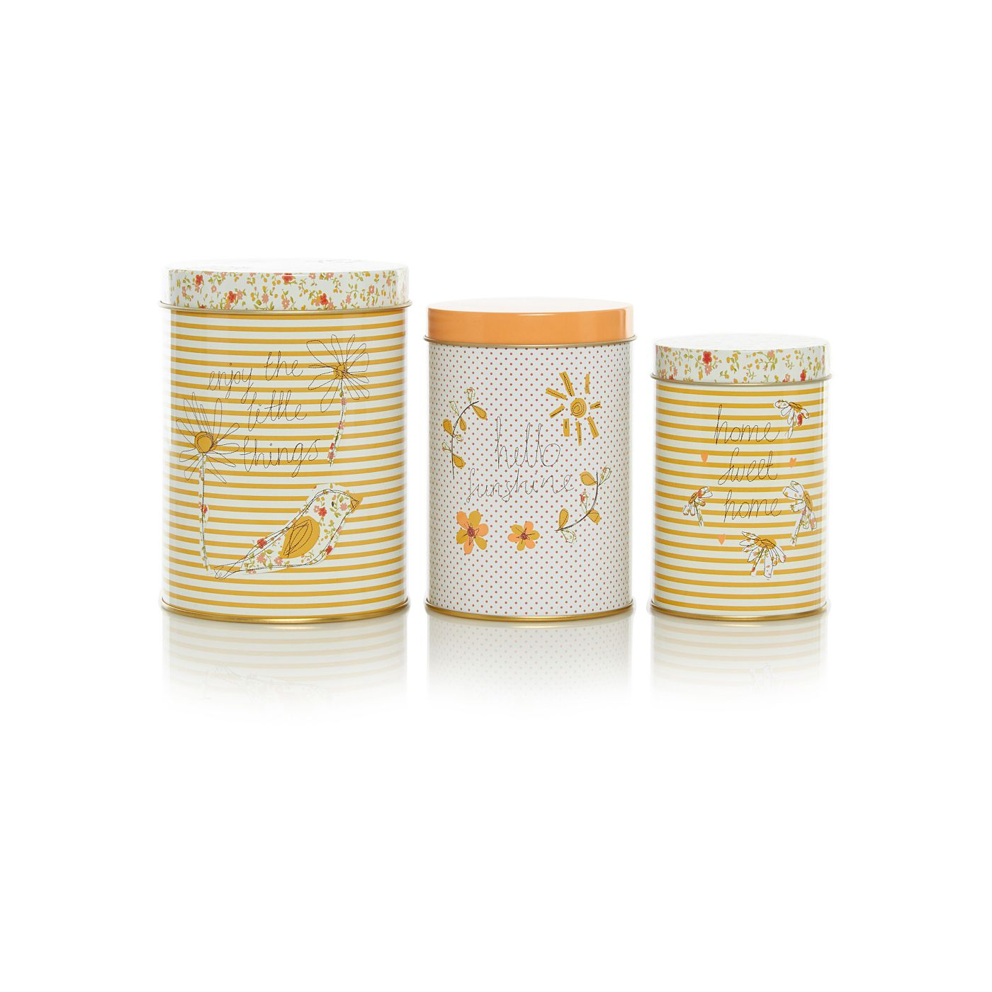 George Home Prince S Trust Nested Canisters 3 Pack Homespun