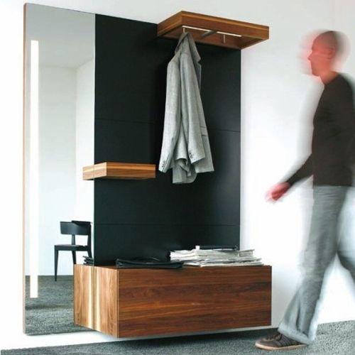 Dielenmobel Flur Spiegel Sitzbank Holz Apartman Ic Hol Foyer