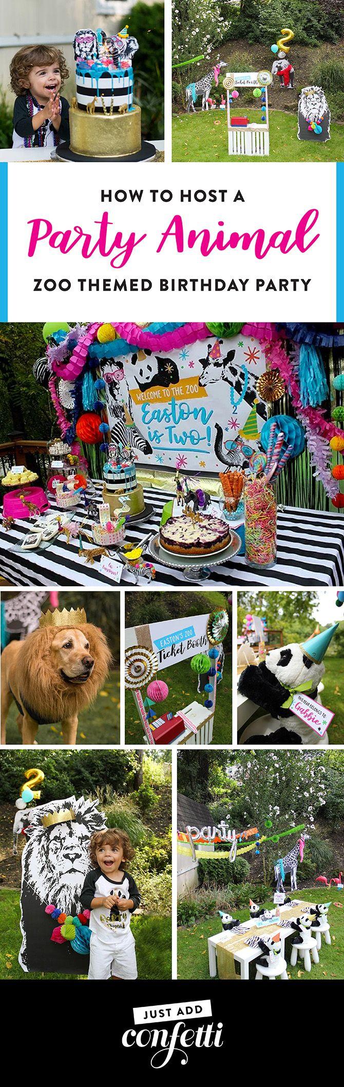 Animal Stickers x 15 Lion Zebra Zoo Excursions Animal Party Birthday Favours