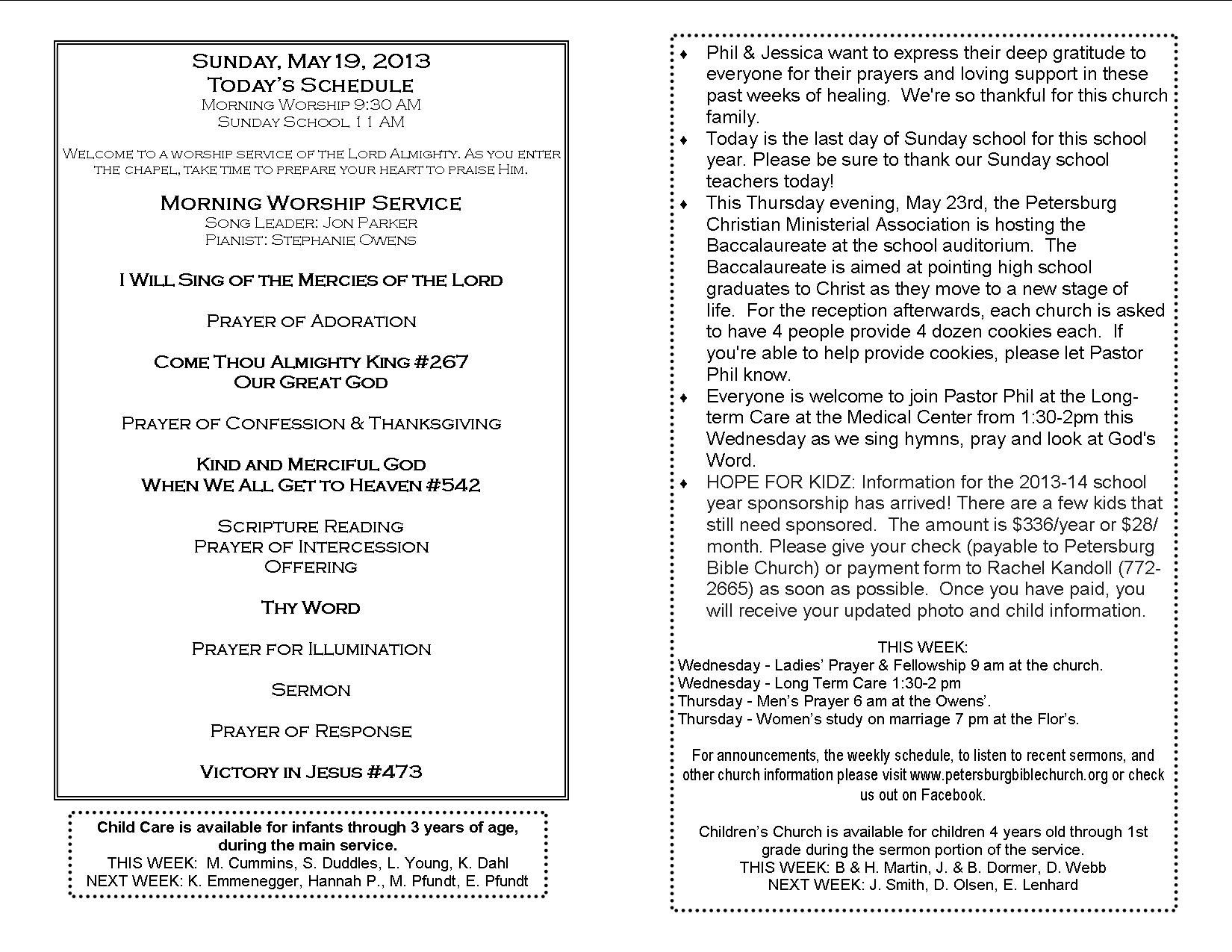 Church Bulletin Fillers And Quotes Quotesgram By Quotesgram