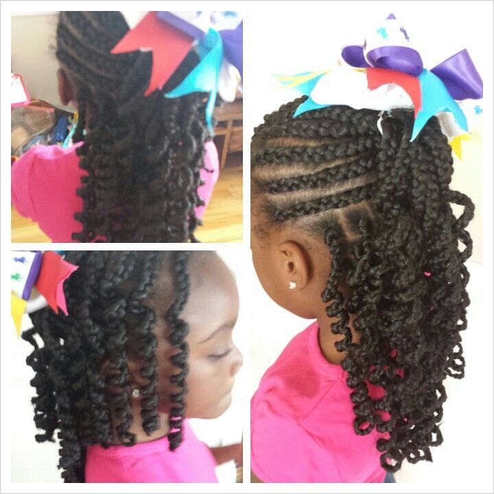 Miraculous 1000 Images About Little Girls Braids On Pinterest Black Girls Hairstyle Inspiration Daily Dogsangcom