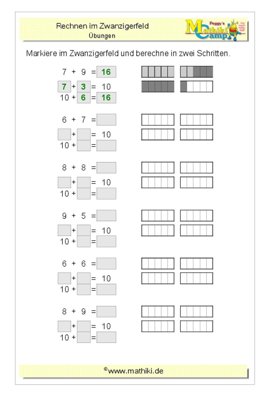 Mathe Arbeitsblätter 1 Klasse - Worksheets