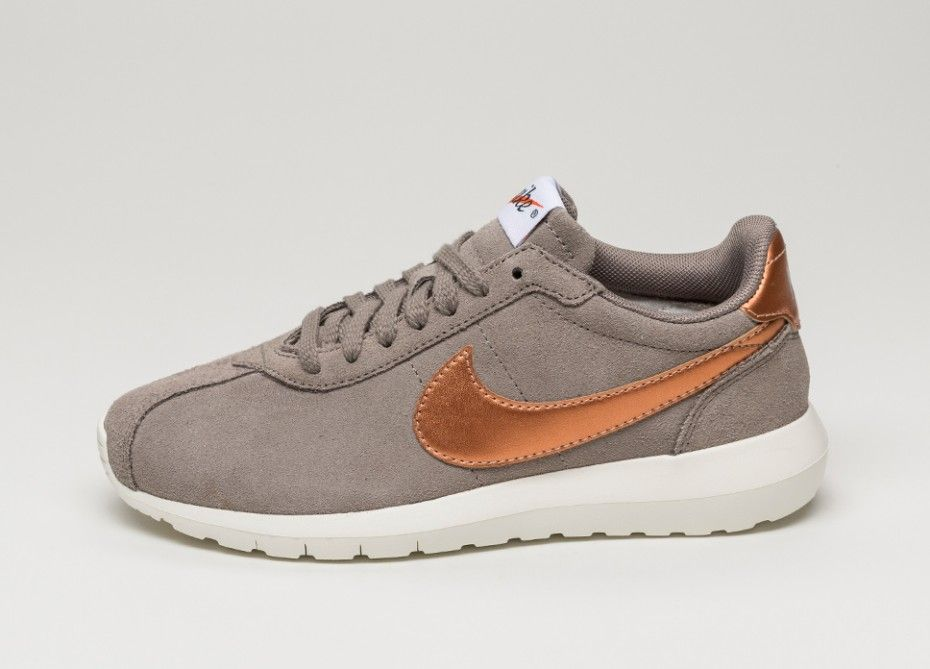 nike roshe ld 1000 womens bronze metallic top
