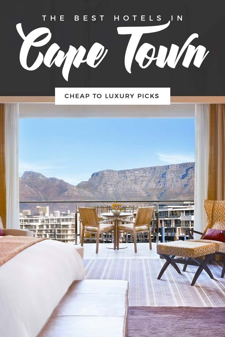The Best Hotels in Cape Town, South Africa Cheap to