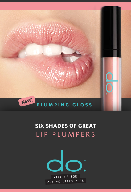 NEW! Six shades of great lip plumpers from do. Active Make-up! Balmy, ultra-hydrating gloss plumps with sheer color and high-shine, to instantly create the appearance of fuller, softer, more youthful-looking lips. Check out the six great shades here: http://doactiveproducts.com/makeup.php. #thefreshfaceofdo #doactiveproducts