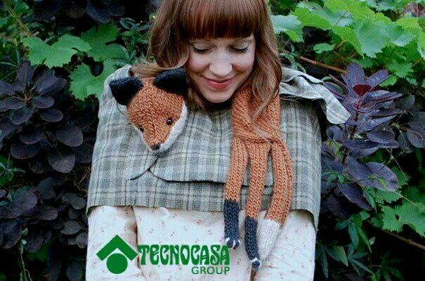 Una bufanda no solo debe de taparte el frío, debe ser original #HogarTecnocass
