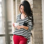 Red & stripes - Wendy's Lookbook