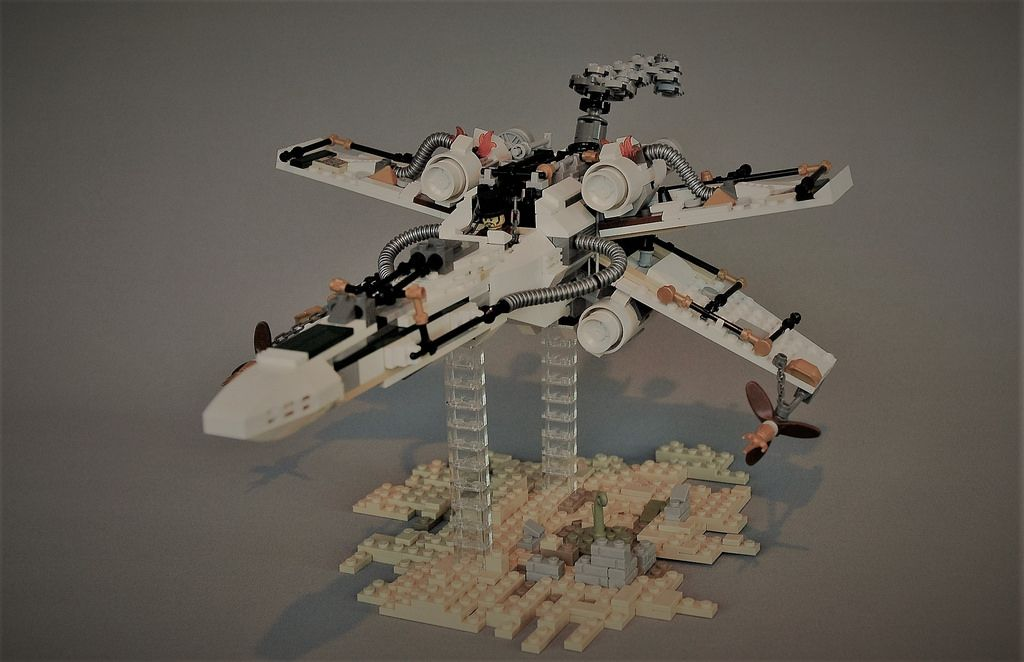 """Steampunk X-wing"" by adde51: Pimped from Flickr"