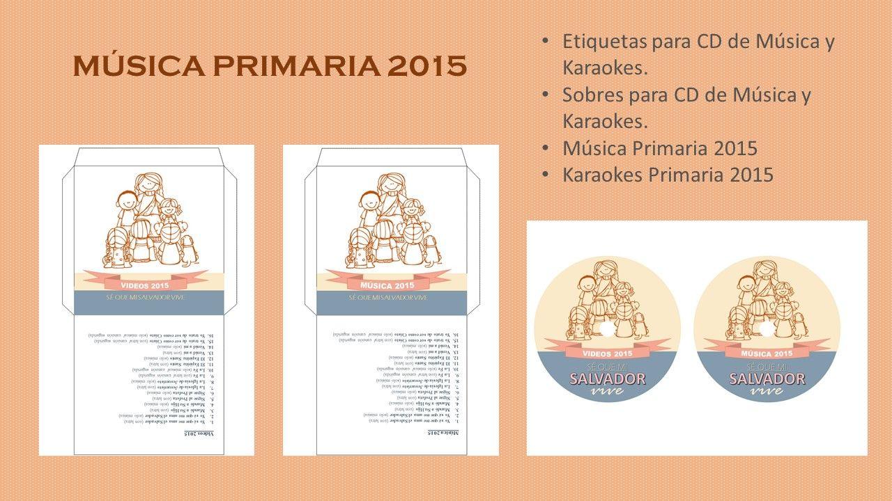 MÚSICA PARA LA PRIMARIA 2015: \