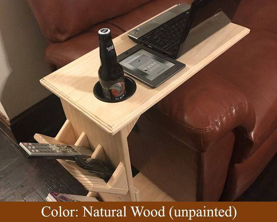 Unfinished Couch Tray Table End Sofa